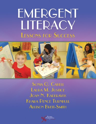 Emergent Literacy Lessons for Success  2008 edition cover