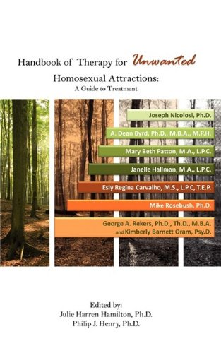 Handbook of Therapy for Unwanted Homosexual Attractions N/A edition cover