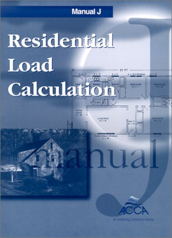 Residential Load Calculation 7th edition cover