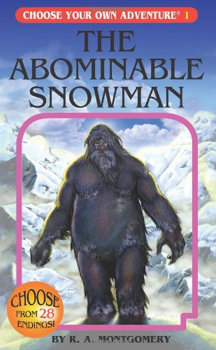 Abominable Snowman   2005 edition cover