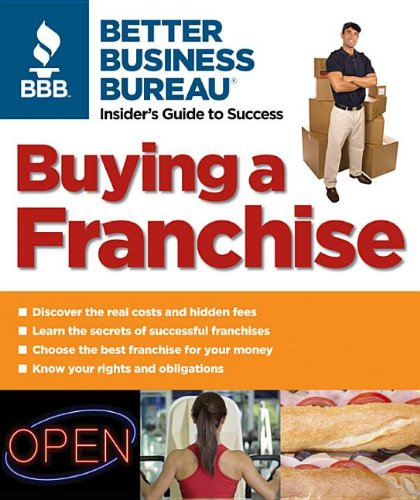 Buying a Franchise   2007 9781933895017 Front Cover