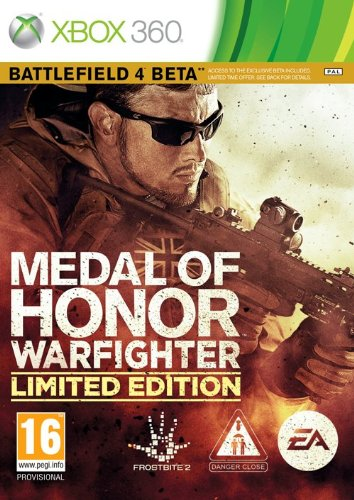 MEDAL OF HONOR WARFIGHTER LIMITED EDITION INC BATTLEFIELD 4 BETA XBOX EN PEGI Xbox 360 artwork