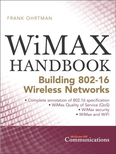 WiMAX Handbook Building 802. 16 Networks  2005 9780071454018 Front Cover