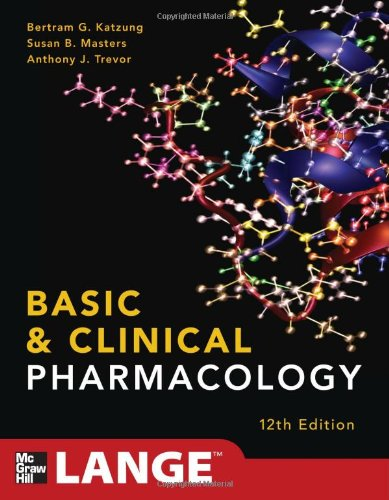 Basic and Clinical Pharmacology  12th 2012 edition cover