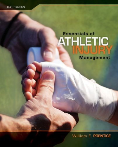 Essentials of Athletic Injury Management  8th 2010 edition cover