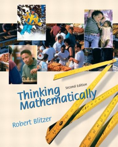 Thinking Mathematically  2nd 2003 edition cover