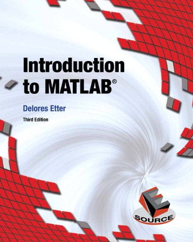 Introduction to MATLAB  3rd 2015 edition cover