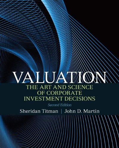 Valuation  2nd 2011 (Revised) edition cover
