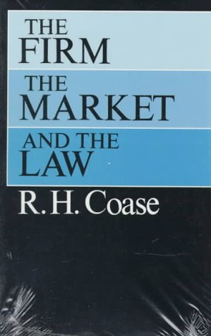 Firm, the Market, and the Law   1990 edition cover