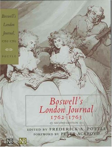 Boswell's London Journal, 1762-1763   2004 edition cover