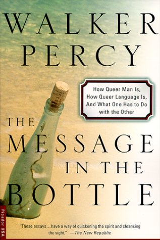 Message in the Bottle How Queer Man Is, How Queer Language Is, and What One Has to Do with the Other  2000 (Revised) edition cover
