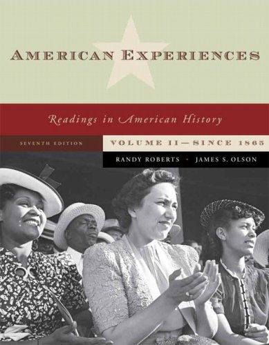 American Experiences  7th 2008 edition cover