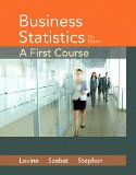 Business Statistics: A First Course  2015 edition cover