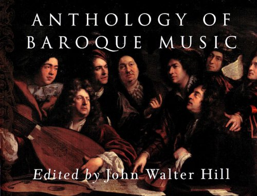 Anthology of Baroque Music  N/A edition cover