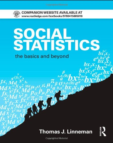 Social Statistics The Basics and Beyond  2011 edition cover
