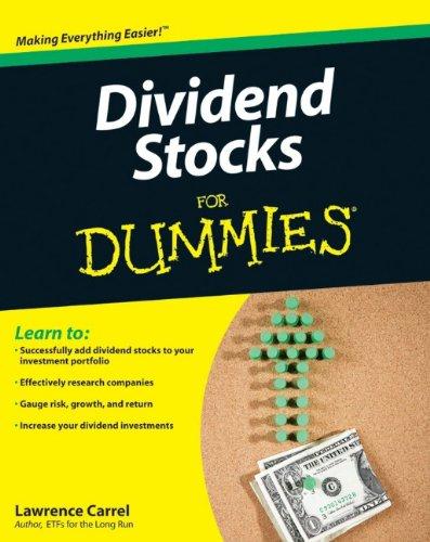 Dividend Stocks for Dummies   2010 edition cover
