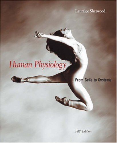 Human Physiology From Cells to Systems 5th 2004 9780534395018 Front Cover