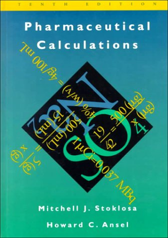 Pharmaceutical Calculations  10th 1996 (Revised) 9780683080018 Front Cover