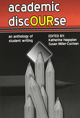 Academic Discourse an Anthology of Student Writing  Revised  9780757567018 Front Cover