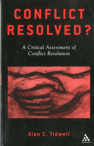 Conflict Resolved? A Critical Assessment of Conflict Resolution  2001 edition cover