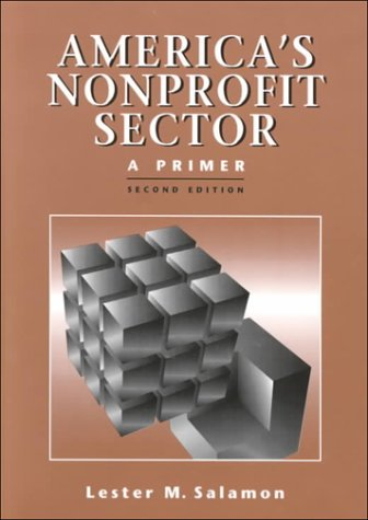 America's Nonprofit Sector A Primer 2nd 1999 9780879548018 Front Cover