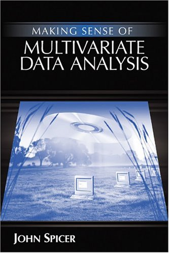 Making Sense of Multivariate Data Analysis An Intuitive Approach  2004 edition cover