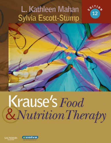 Krause's Food and Nutrition Therapy  12th 2007 (Revised) edition cover