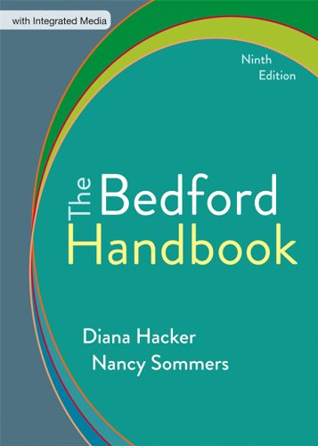 The Bedford Handbook:   2013 edition cover