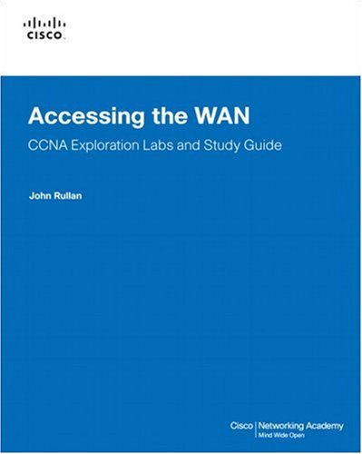 Accessing the WAN CCNA Exploration Labs and Study Guide 2nd 2008 edition cover