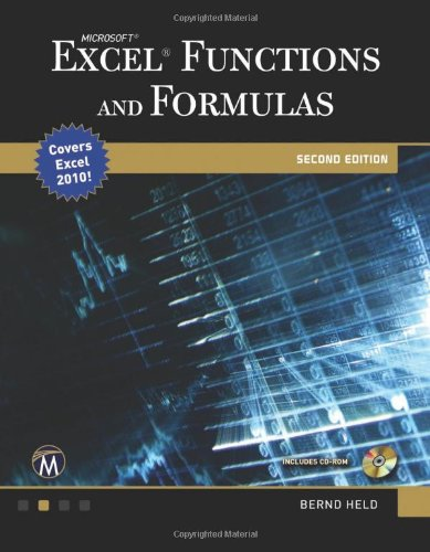 Microsoft� Excel� Functions and Formulas  2nd 2011 edition cover
