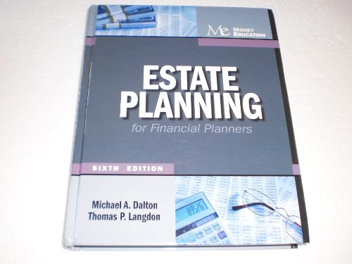 ESTATE PLANNING FOR FINANCIAL PLANNERS N/A 9781936602018 Front Cover