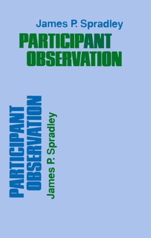 Participant Observation   1980 9780030445019 Front Cover
