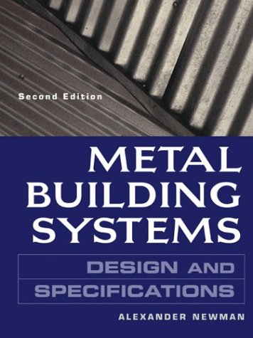 Metal Building Systems Design and Specifications 2nd 2004 (Revised) edition cover