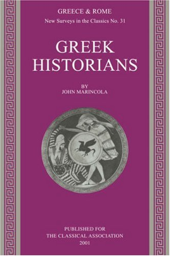 Greek Historians   2001 edition cover