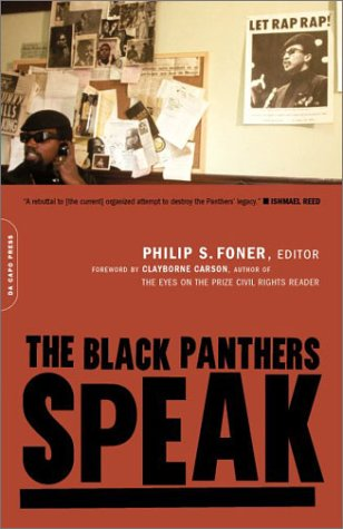 Black Panthers Speak   2002 edition cover