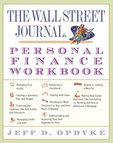 Wall Street Journal Personal Finance Workbook  edition cover
