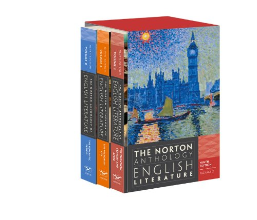 Norton Anthology of English Literature  9th 2012 edition cover