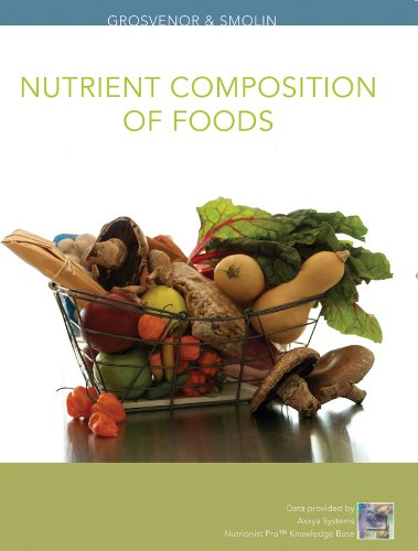 Nutrient Composition of Foods  2nd 2010 edition cover