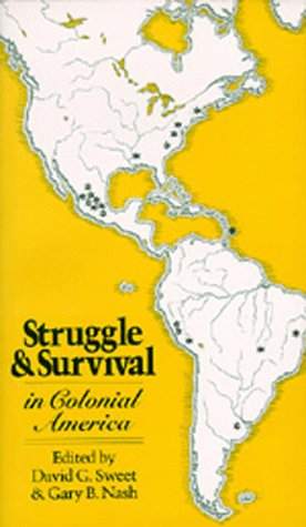 Struggle and Survival in Colonial America  N/A edition cover