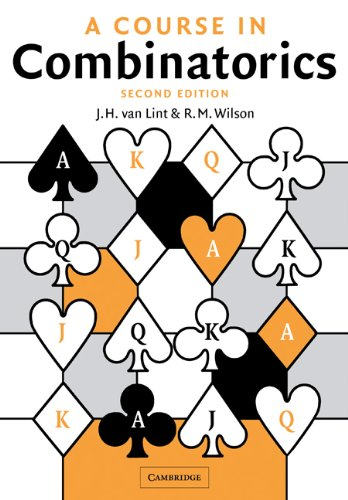 Course in Combinatorics  2nd 2001 (Revised) edition cover