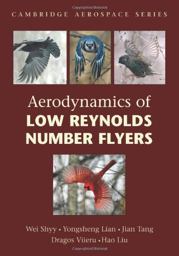Aerodynamics of Low Reynolds Number Flyers   2011 9780521204019 Front Cover