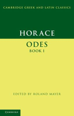 Horace - Odes   2012 9780521671019 Front Cover