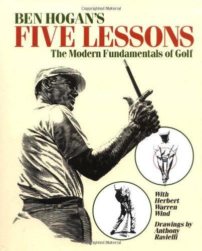 Ben Hogan's Five Lessons The Modern Fundamentals of Golf  1990 (Reprint) edition cover