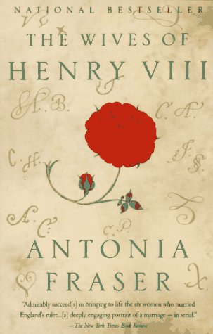 Wives of Henry VIII   1994 edition cover