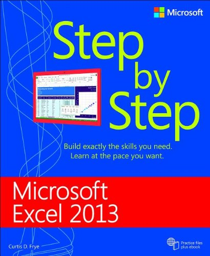 Microsoft� Excel 2013   2013 edition cover