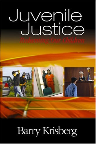 Juvenile Justice Redeeming Our Children  2005 9780761925019 Front Cover