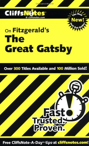 Fitzgerald's the Great Gatsby   2000 edition cover