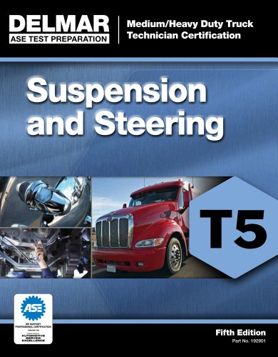 ASE Test Preparation - T5 Suspension and Steering  5th 2013 edition cover