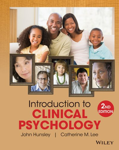 Introduction to Clinical Psychology An Evidence-Based Approach 2nd 2014 edition cover