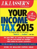 J. K. Lasser's Your Income Tax 2015 For Preparing Your 2014 Tax Return 5th 2015 9781118922019 Front Cover